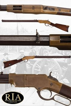 Historic Identified Indiana Volunteer Infantry Civil War New Haven Arms Co. Henry Rifle with Documentation Shotguns, Firearms, Winchester 1894, Henry Rifles, Lower Receiver, Lever Action Rifles, Killed In Action, Union Army, Weapon Of Mass Destruction
