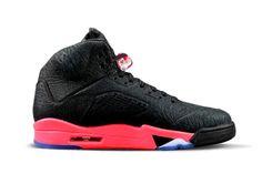 2014 New Air Jordan 5 Infrared 23 (Black/Infrared Black Jordans, Cheap Jordans, Newest Jordans, Jordans 2014, Jordan Shoes For Sale, Michael Jordan Shoes, Air Jordan Shoes, Nike Air Jordan 5