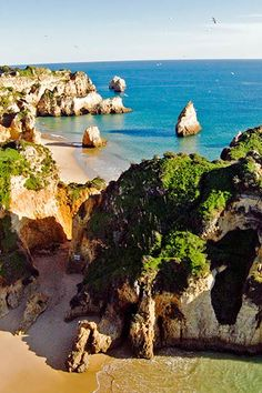 Alvor Portugal, Gods Creation, Cool Countries, Lisbon, Beautiful Landscapes, Strand, Beautiful Places, Explore, Country