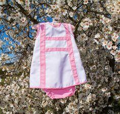 Entre puntos y puntadas: Vestido con braguita a conjunto Apron, Summer Dresses, Fashion, Summer Outfit, Stitching, Pique, Moda, Summer Sundresses, Fashion Styles
