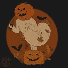 Halloween Post, Halloween Icons, Halloween Cartoons, Halloween Pictures, Creepy Halloween, Disney Halloween, Halloween Themes, Vintage Halloween, Phone Themes