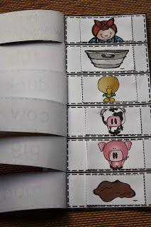 Wishy-Washy flip book that works with ANY Mrs. Wishy-Washy book in the series by Joy Cowley. Retelling Activities, Farm Activities, Preschool Books, Kindergarten Literacy, Preschool Learning, Book Study, Book Art, Farm Unit, Book Works