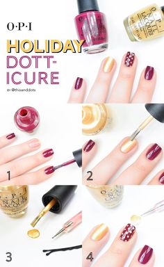 This is how you can get your Dotti-cure done for #Christmas