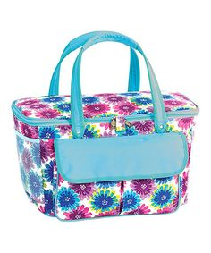 Another great find on #zulily! Blue Blossom Avanti Cooler Tote #zulilyfinds