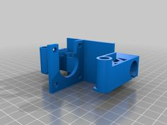 Replicator X axis carriage motor by hyppyayo.