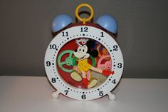 Vintage Mickey Mouse Concepts 2000 Tell-Time Clock Mickey Mouse Clock on Etsy, $10.00