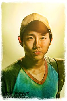 The Walking Dead: Glenn: BuzSim Paint Re-Edit by nerdboy69 on deviantART