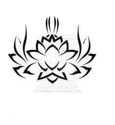 Hot Tattoo on Men: 20+ Engaging Tribal Lotus Tattoo Designs