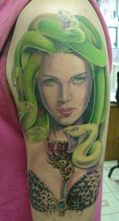 Mike Packer: Medusa Tattoo