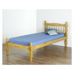 £84.99 - The Hercules Bed Frame from Hyder is a rustic wooden bed fashioned from the finest home grown pine, as approved by the Forest Stewardship Council. A quintessentially shaker bed frame, you can't get any more traditional than the Hyder Hercules Bed Frame.