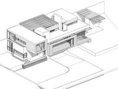 Casa Tres Puentes,Modelo
