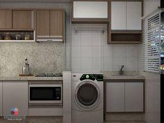 Cozinha + lavanderia...