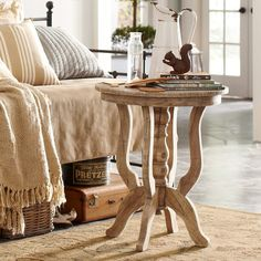 Bedrm. Chaise End table....Joss & Main - Ramona End Table