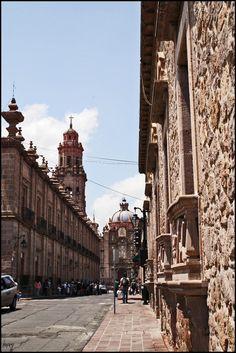 Morelia En La Mira. Mexico. Morelia is just special. No wonder they call it a pueblo magico.