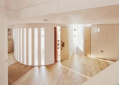 House for a pianist by David Sheppard features fluted outer walls