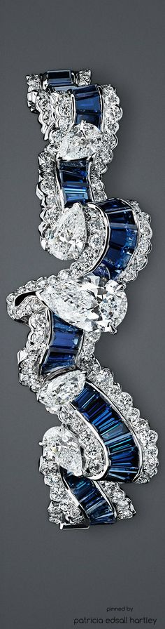 "http://rubies.work/0872-ruby-pendant/ SOIE DIOR - ""Gros Grain Saphir"" Bracelet Plus"