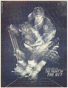 Tampa Bay Lightning posters, designed by Dunn & Co.