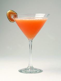 Cinnamon Fig Martini 1.5 oz. Belvedere vodka 1/4 oz. Grand Marnier 1.5 oz. fresh lime juice 1 tsp. cinnamon water (boiled water with cinnamon and sugar) 1 oz. blood orange juice Fig slices Shake all ingredients. Serve straight up. Garnish with a fig slice.   - MarieClaire.com
