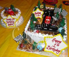 Image result for the cars cake whipped cream
