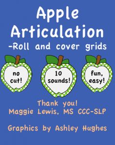 Apple Articulation! 10 sounds!-Promotion ends at 11:59:59 CST on 8-11-2013