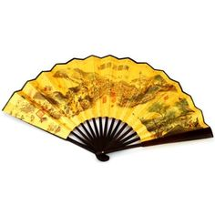 niceEshop(TM) 10-inch Foldable Raw Silk Fan / Printing Folding Fan / Chinese Style Fan / Silk Hand Fan -Random Color +Free niceEshop Cable T... - Click image twice for more info - See a larger selection of folding fan at http://www.zbestsellers.com/level.php?node=146&title=asian-folding-fans - woman, accessories, folding fan, woman fashion. asian fan
