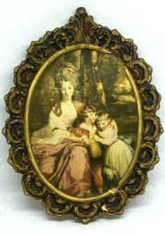 Old Picture World Famous painting Lady Elizabeth Delmé and her Children ART Rare | eBay