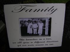 Family Like Branches on a Tree We All Grow in by KPATTONDESIGNS