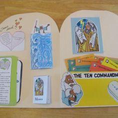 Free 10 commandments lap book