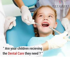 Dental Care For Children Increased use of preventive dental services can improve the health of infants,children and adolescents. Pediatric ‪‎Dentistry‬ (formerly ‪#‎Pedodontics‬/Paedodontics) is the branch of dentistry dealing with oral health of children from infancy through adolescence. All pediatric dental procedures are carried out at Novadent including curative and preventive ‪dental‬ procedures such as sealant treatment, topical fluoride application etc.  http://www.novadenttly.com/