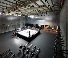 The Burrow Boxing Gym in Kuwait by Lab100   Yellowtrace