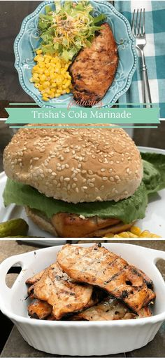 Trisha's Cola Marinade for Chicken Breasts on the Grill is a simple recipe for a delicious and juicy grilled chicken breasts.