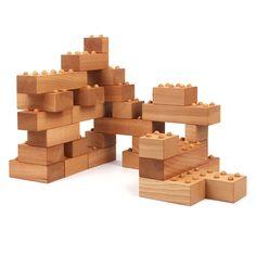 Schindlerholz • Holzbausteine Bausteinset