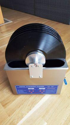 Luxury Vinylputze u Plattenwaschen mit Sparky Lautsprecher selber bauen