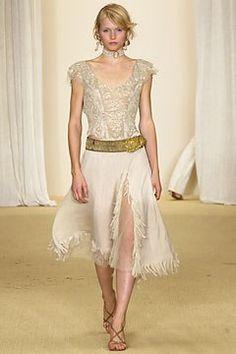 Ralph Lauren Spring 2003 Ready-to-Wear Fashion Show - Inga Eriksdottir