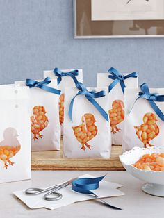 Easter chicken goody bag