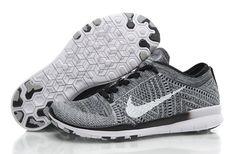sale retailer 54224 f8d21 Discount Nike Free Gris En Ligne Blanc 5.0 Noir Flyknit Chaussures, Nike  Socks, Adidas