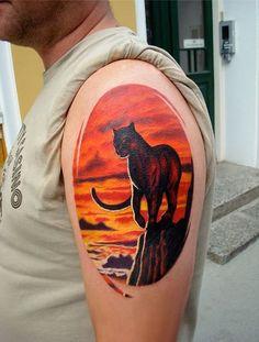 panther tattoo designs (10)