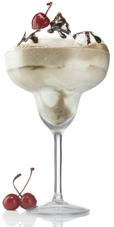 Patr???n XO Cafe Sundae Cocktail. Dessert in a glass? Bottoms up! An here???s the alcohol drug peer pressure mother warned me about. I was starting to think that it was never going to happen.
