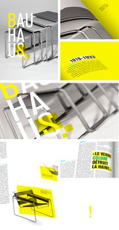 BAUHAUS MAGAZINE by Yousang Parent-Voisine, via Behance
