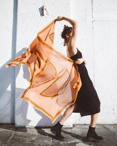 Block Shop Textiles | Pamplemousse scarf