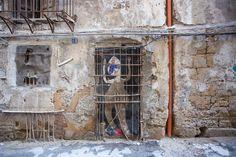 Street Art, Palermo, Painting, Urban Art, World, Painting Art, Paintings, Painted Canvas, Drawings