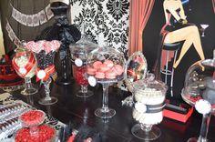 Burlesque Birthday Party Ideas | Photo 6 of 25