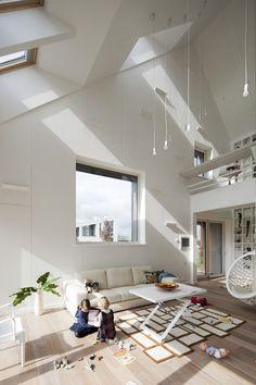 AuBergewohnlich Klare Linien Und Eine Menge Licht Klare Linien, Dachfenster, Wohnzimmer  Ideen, Landhaus,