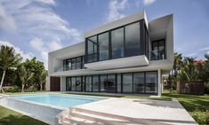 pure yet somptuous design beachside residence thumb   Elegant Beachside Property Style In Miami Beach home design