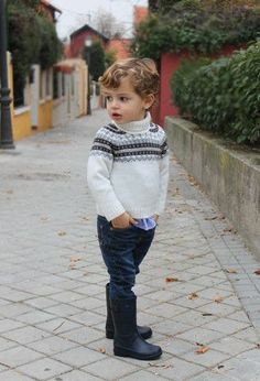 Looks de moda 2016 Toddler Boy Fashion, Little Boy Fashion, Toddler Boy Outfits, Baby Kids Clothes, Toddler Boys, Kids Boys, Cute Baby Boy, Preppy Baby Boy, Little Boy Outfits