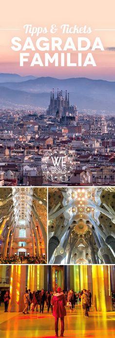 Wir zeigen dir welches Ticket du für die Besichtigung der Sagrada Familia in Barcelona brauchst und geben dir Tipps für eine unvergessliche und entspannte Besichtigung.
