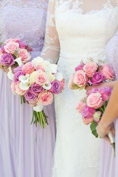 Spring Wedding On A Private Horse Farm in Lexington, KY Pink Purple Wedding, White Wedding Bouquets, Flower Bouquet Wedding, Wedding Dresses, Horse Wedding, Lace Wedding, Wedding Bride, Tangled Wedding, Wedding Shit