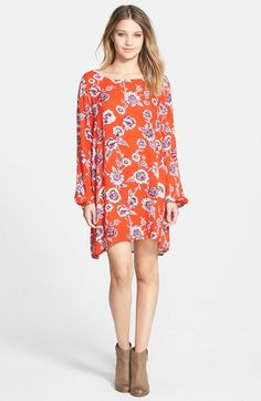 Billabong+'Heart+Strayed'+Trapeze+Dress+available+at+#Nordstrom