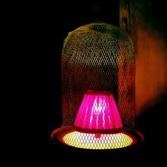 #cage #lamp #light #iPhone | Flickr - Photo Sharing!