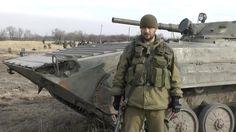 """Боец """"Техник"""" приехал воевать в ополчение из киевской области. Ополченцы..."""